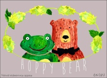 The Hoppy Bear label.