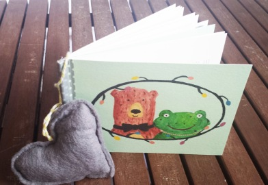 The Frog & Bear Invitation