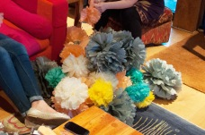 Friday night was pompom fluffing galore!