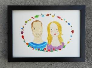 Jayne & Dad Frame