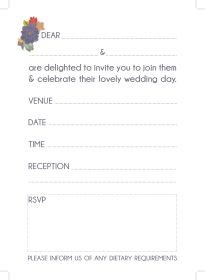 Text for my Ready to Write wedding invitations