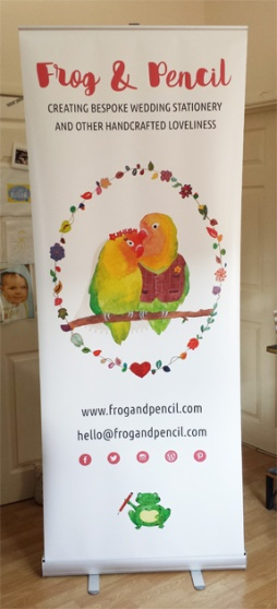 MY very own roller banner...feeling accomplished!