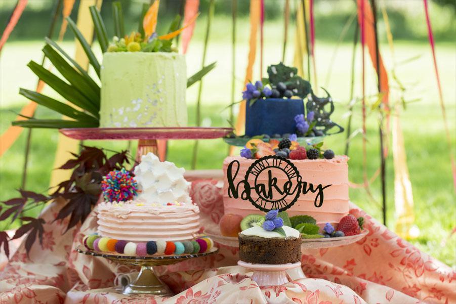 Mexicana Photoshoot Buns of Fun Cakes - Credit Bigphatphotos