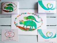 Abi & Rob Little Bespoke Book Wedding Invitation Collection